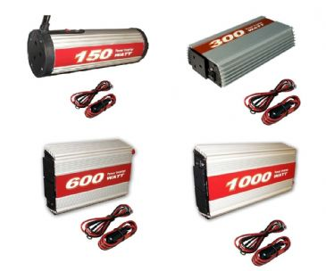 Crusader ELECTRICAL POWER INVERTER 12V TO 240V TRAVEL CAMPING TOURING CAR - 150W, 300W. 600W & 1000W